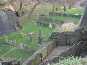 St James' Gardens -Sebuah taman diataskuburan
