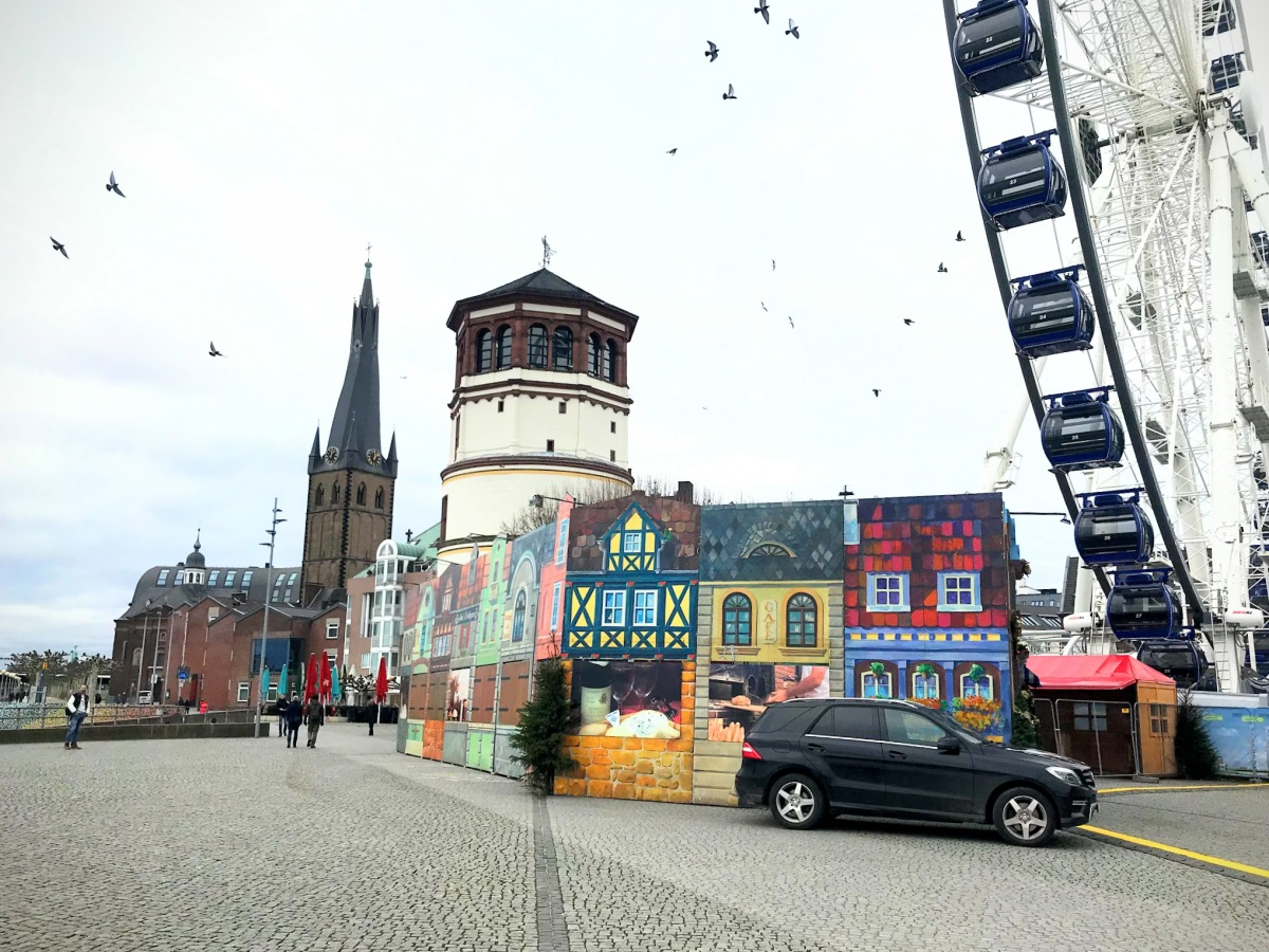 5 Tujuan Wisata Gratis di Düsseldorf