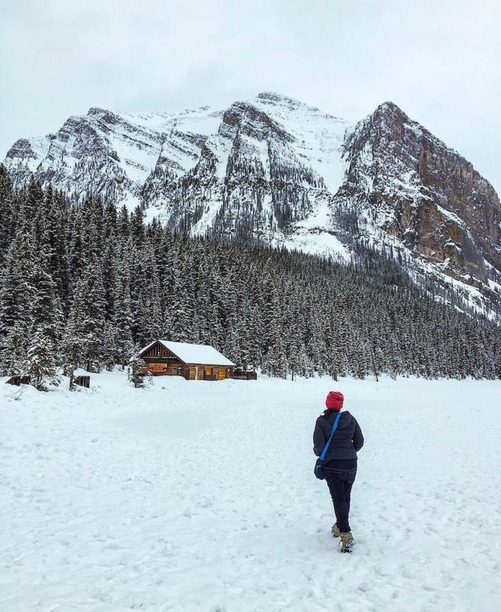 Menikmati Musim dingin di Banff NationalPark
